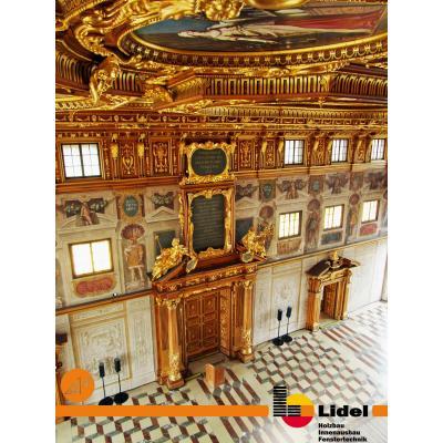 Blick in den Goldenen Saal