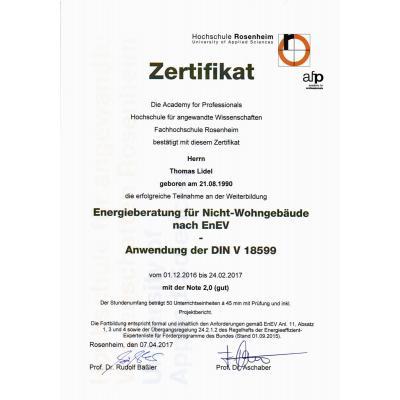 Energieberatung für Nicht-Wohngebäude nach EnEV