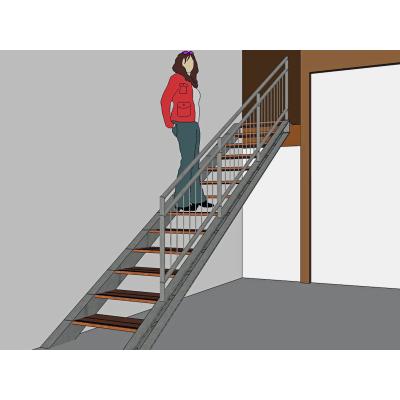 CAD Planung einer Treppenanlage