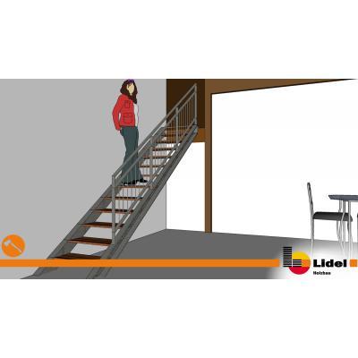 CAD Planung der Treppe