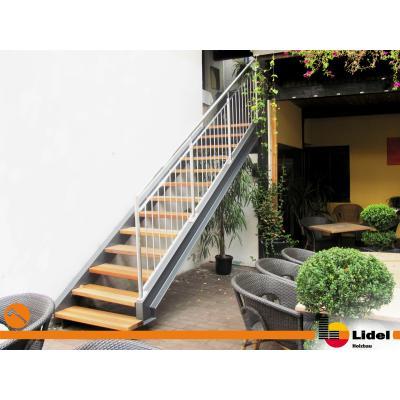 Fertige Treppe