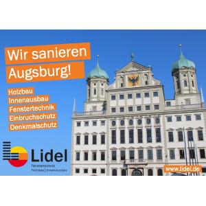 Lidel-Holzbau-Innenausbau-Fenstertechnik - Wir sanieren Augsburg!