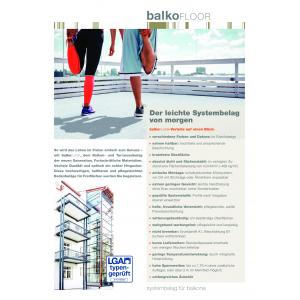 BALKOfloor - Der leichte Systembelag von morgen
